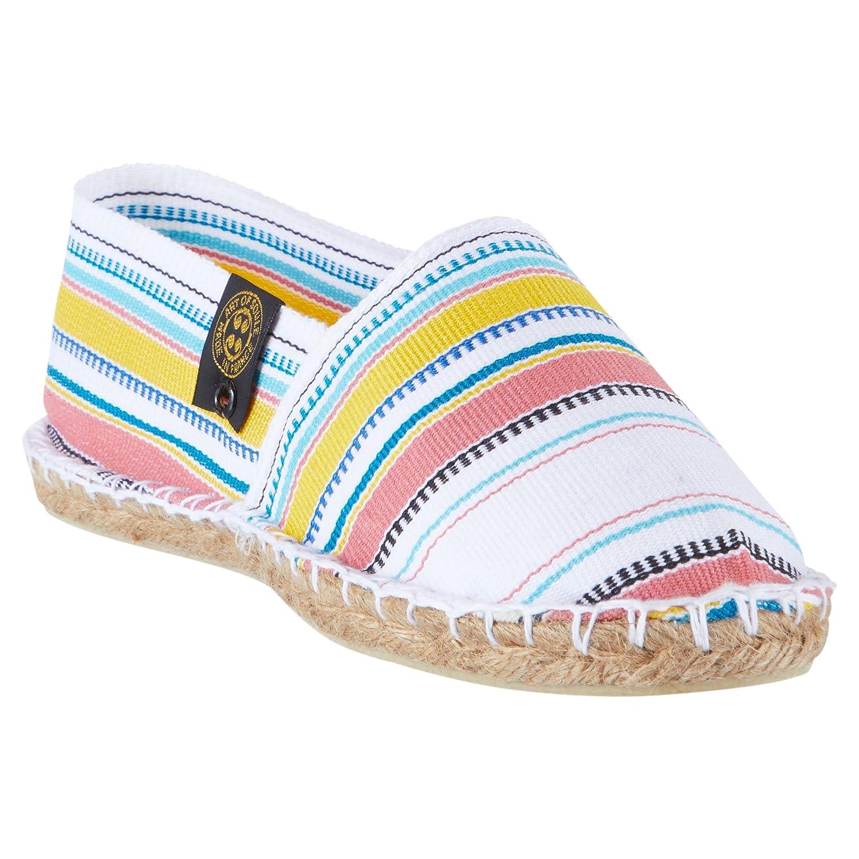 Art Of Soule | Alpargatas Planas sin Cordones - Originales y Auténticas - Fabricadas en Francia - Missouri - Blanco: Amazon.es: Zapatos y complementos