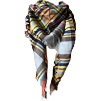 Wander Agio Long Plaid Scarf