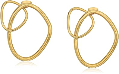 Soko Climbing Sabi Studs Earrings Brass P7trV