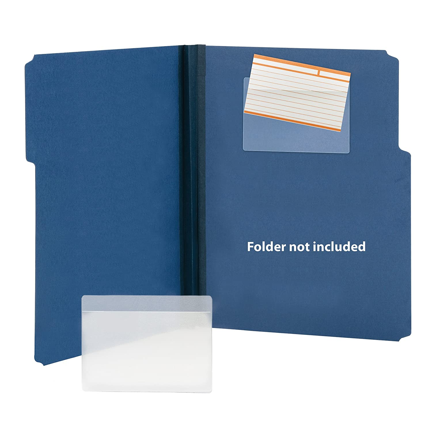 Smead Self-Adhesive Poly Pockets 100 Per Box: Amazon.es: Juguetes y juegos
