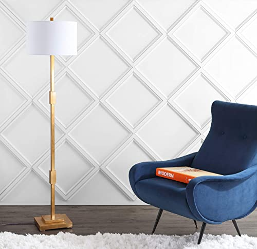 JONATHAN Y JYL3063A Windsor 61.5″ Resin/Metal LED Floor Lamp Contemporary,Transitional