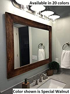 Amazon Com Amanti Art Framed Vanity Mirror Bathroom