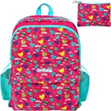 GirlZone: Backpack For Girls: Fun & Funky Rucksack School Bag For Kids Age 5 6 7 8 9+. Great Birthday Present /Gift Idea For Girls.