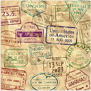 Beistle Around The World Luncheon Napkins | Travel, International & World Theme Party Supplies (48 Count)