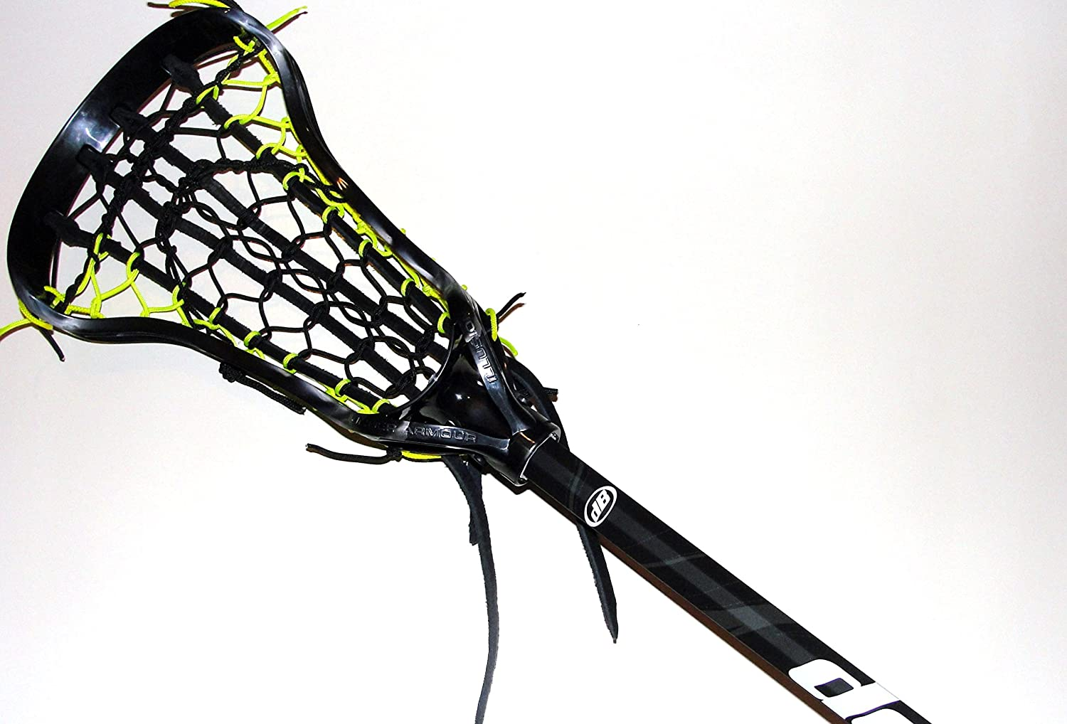 Amazon.com : Custom Strung Womens Lacrosse Stick ~ Under Armour Illusion Head with a Traditional Pocket- Debeer Triax Shaft : Sports & Outdoors