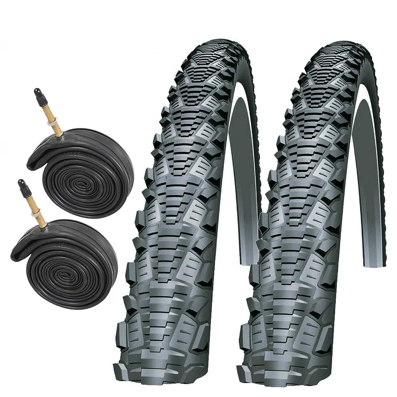 Components Parts Tyres Vandorm Crossfire 26 X 1 95 Pair Of Mountain Bike Tyres Geeksrule Org