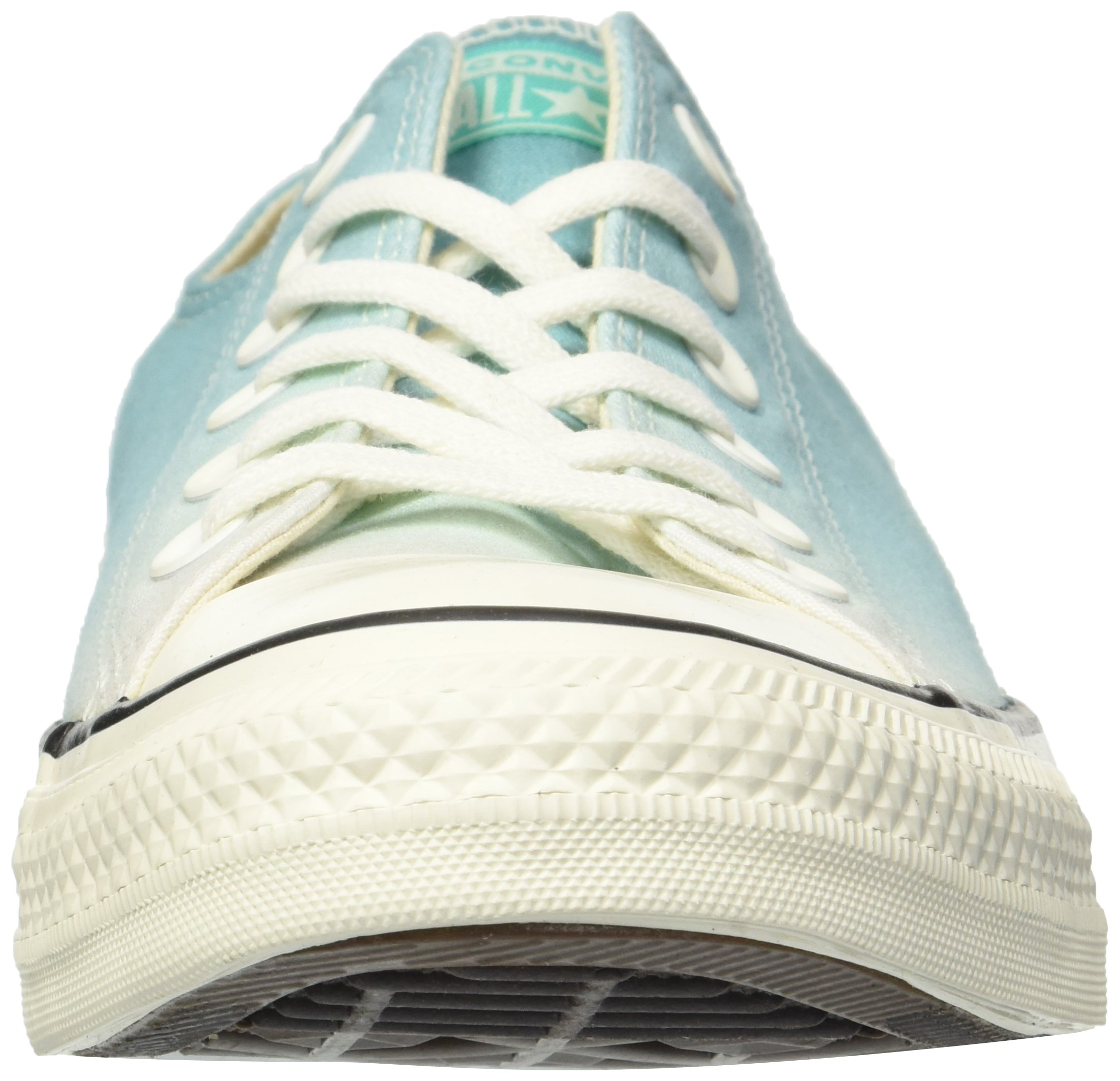 Converse Women's Chuck Taylor All Star Ombre Low TOP Sneaker, Pure Teal egret, 7.5 M US by Converse (Image #4)