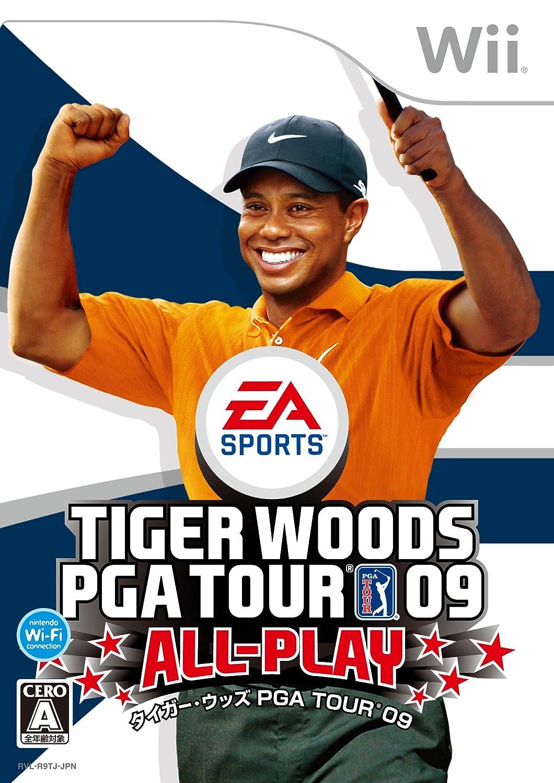 タイガーウッズ PGA TOUR 09 ALL-PLAY - Wii B001O0DKPW