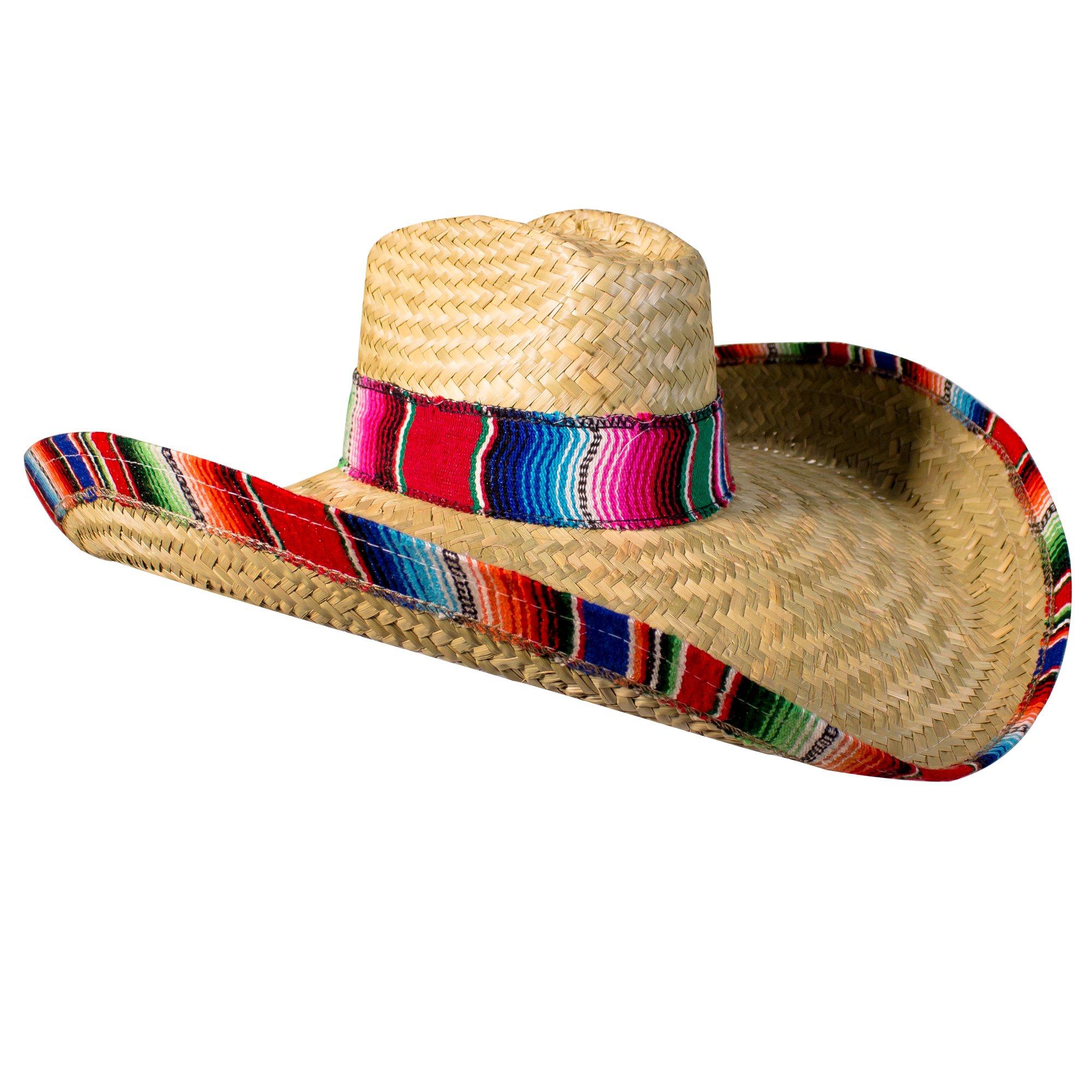 Windy City Novelties Sombrero Hat for Adults 22'' Inch Authentic Made in Mexico
