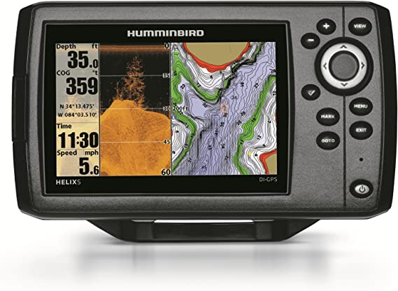 Humminbird Helix 5 DI GPSPlotter/Sonda: Amazon.es: Electrónica