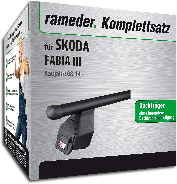 Rameder Komplettsatz Dachträger Tema Für Skoda Fabia Iii 118772 13331 11 Auto