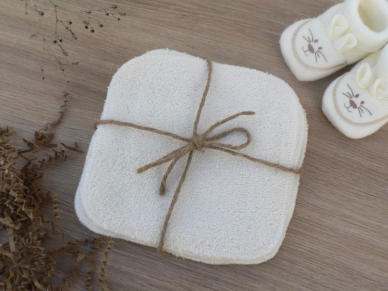 MODULIT 10 Toallitas Lavables y Reutilizables en Bambú para Bebé: Amazon.es: Bebé