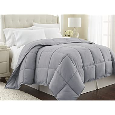 Southshore Fine Linens - Vilano Springs - Down Alternate Weight Comforter - Steel Grey - Full/Queen