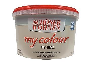 Schöner Wohnen - my colour Wandfarbe matt - 8523 My Sisal, 5 L ...