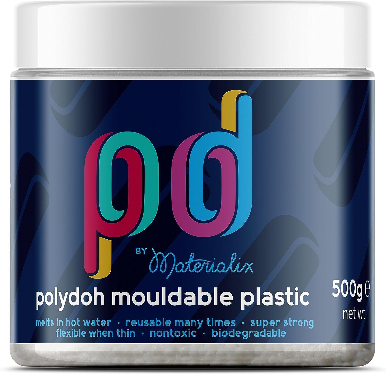 Polydoh - Plástico moldeable, bote de 500g (también conocido como ...