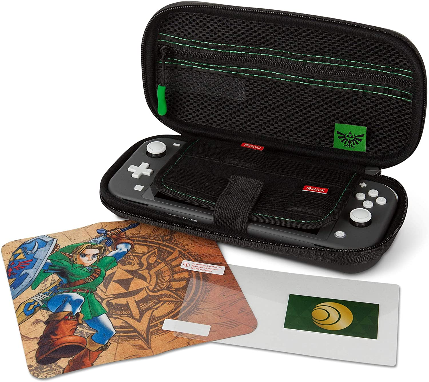 PowerA - Kit de estuche protector Hyrule Link (Nintendo Switch ...