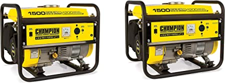 Amazon.com: Champion generador portátil de 1200 vatios ...