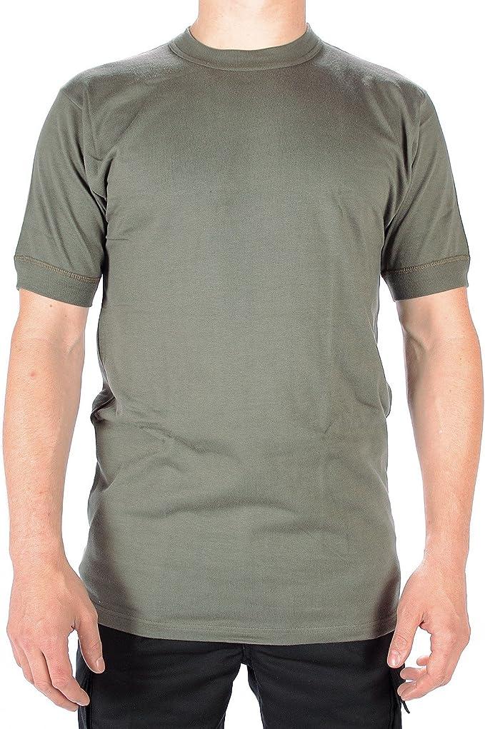 Leo Köhler - Camiseta de manga corta, diseño militar de la ...