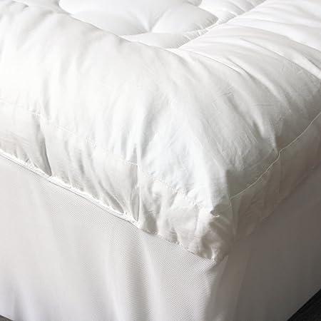 amazoncom cozyclouds by downlinens billowy clouds mattress pad home u0026 kitchen