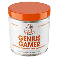Genius Gamer - Elite Gaming Nootropic | Focus & Brain Booster Supplement - Boost...