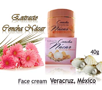 Amazon.com : 1 Jar Concha Extract Nacar HECHA En Veracruz, Mexico Mother of Pearl : Beauty