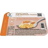 Poulet sauce aux fromages italiens et polenta surgelés - 300 g