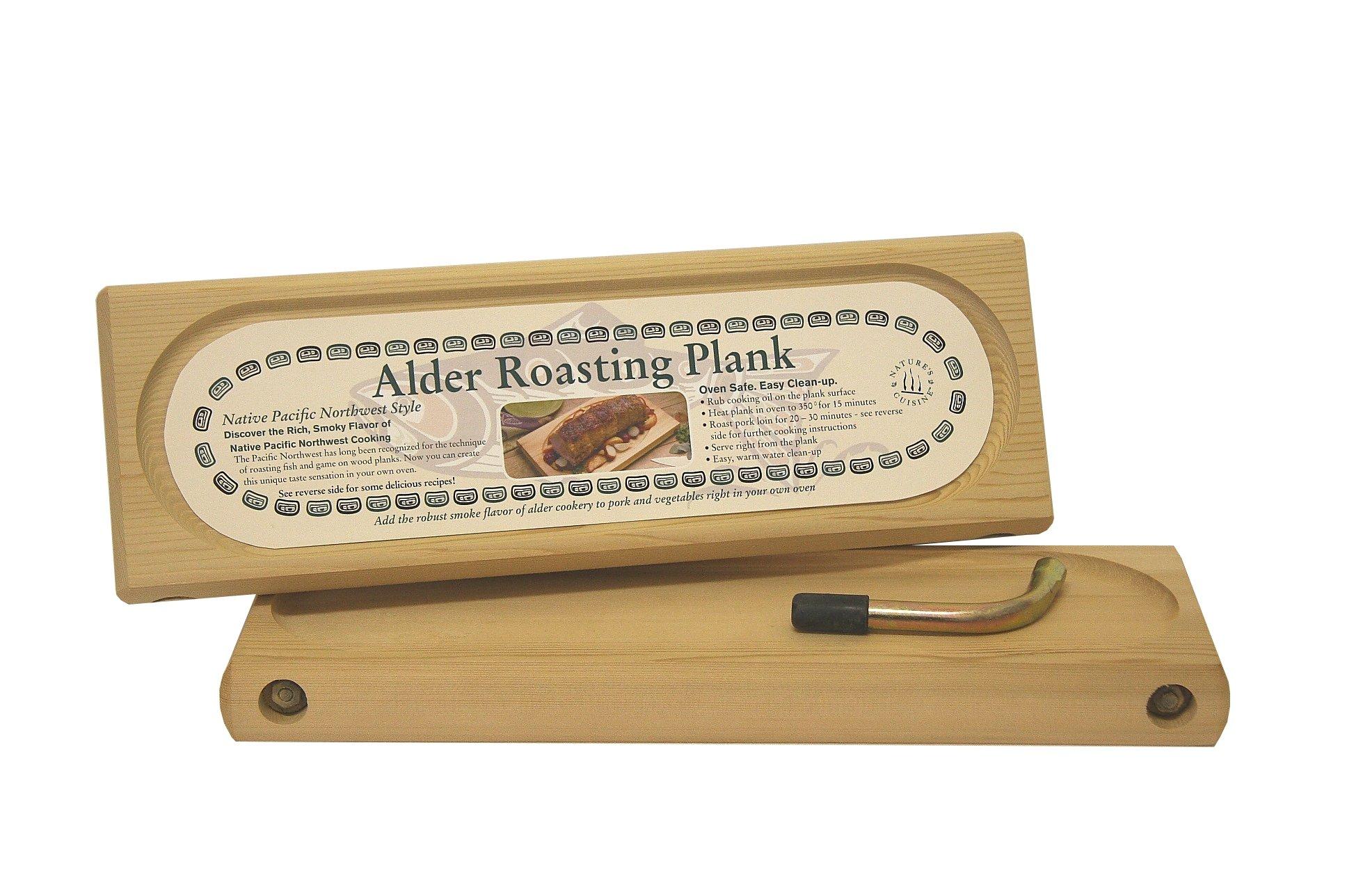 Natures Cuisine NC003-16 Alder Roasting Plank, 16-Inch