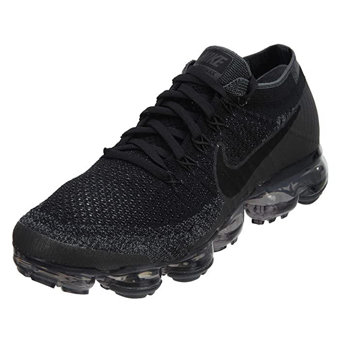 46411522f7 Amazon.com | Nike Women's WMNS Air Vapormax Flyknit, Wolf Grey/Black-Bright  Crimson | Road Running