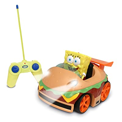 NKOK Remote Control Krabby Patty Vehicle with Spongebob: Toys & Games