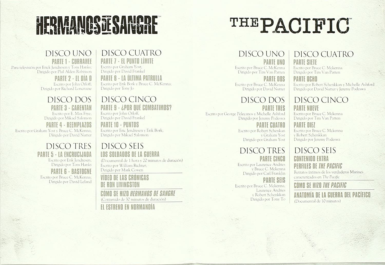 Amazon.com: Pack Dual Pacific-Hermanos De Sangre (Import Movie) (European Format - Zone 2) [2011]: Movies & TV