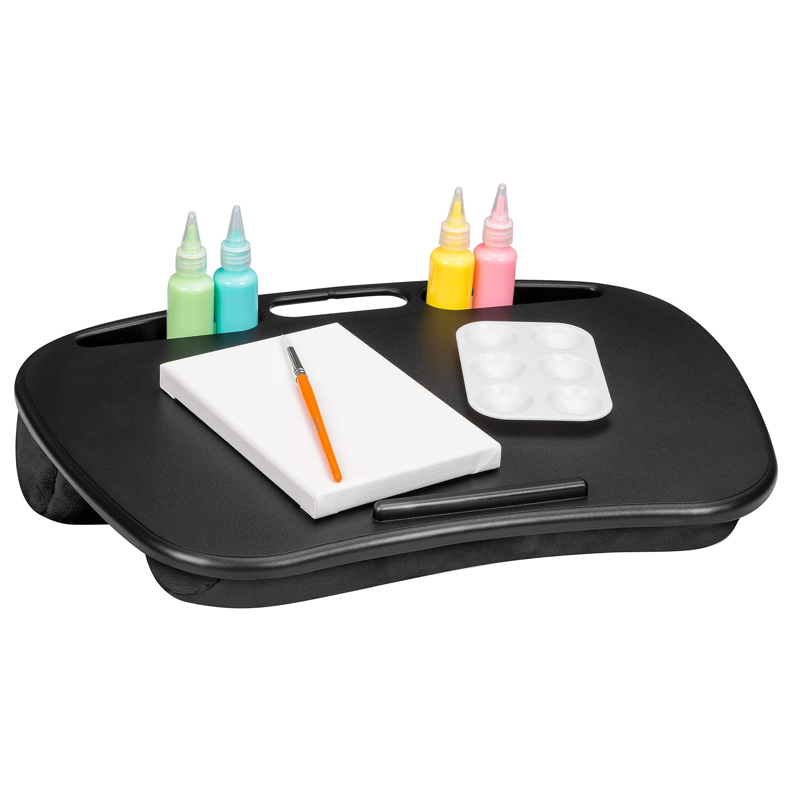 LapGear MyDesk Lap Desk - Black (Fits up to 15.6'' Laptop) - Style #44448