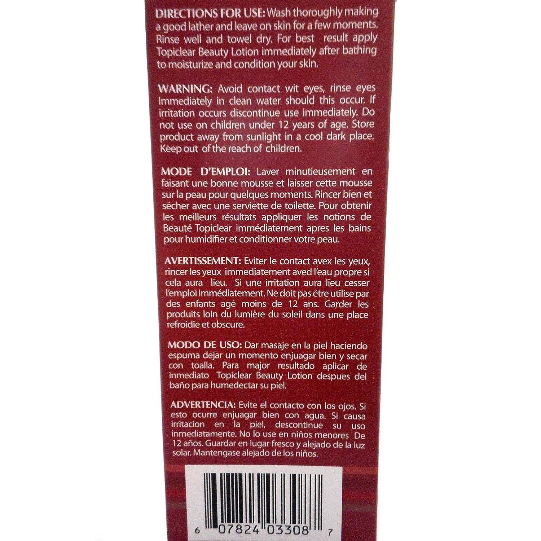 Amazon.com : Topiclear Carrot Treatment Soap. 7oz [Misc.] : Beauty : Beauty