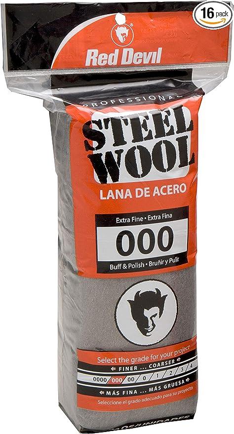 10 lb Case Steel Wool Rolls Grade #4 EXTRA COARSE