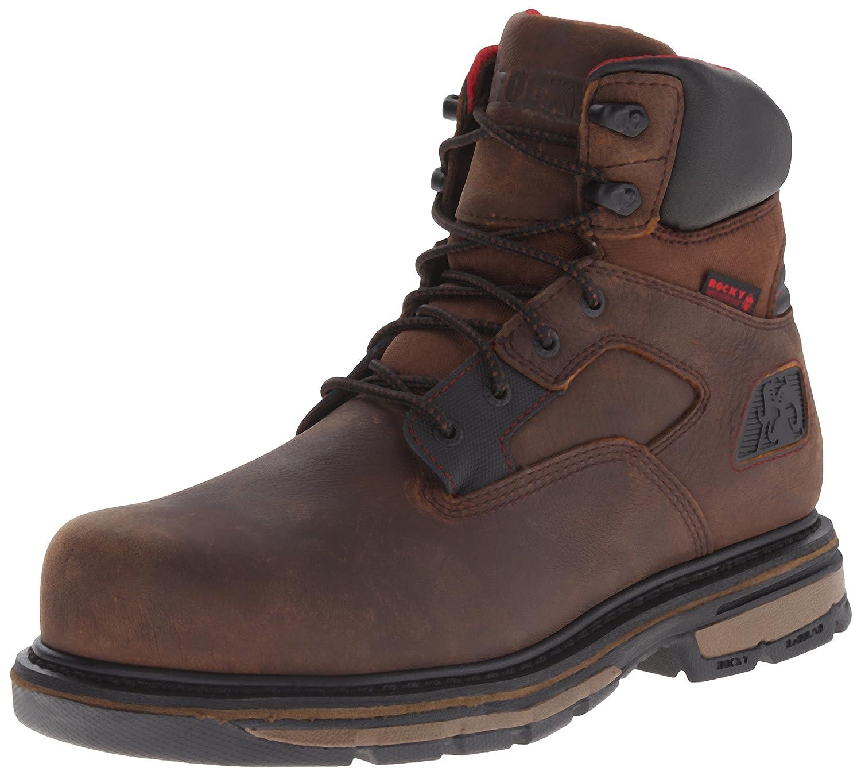 ロッキーMen 's 6 Inch Hauler Composite Toe Work Boot ブラウン 11.5 M US 11.5 M USブラウン B0146U9IHK
