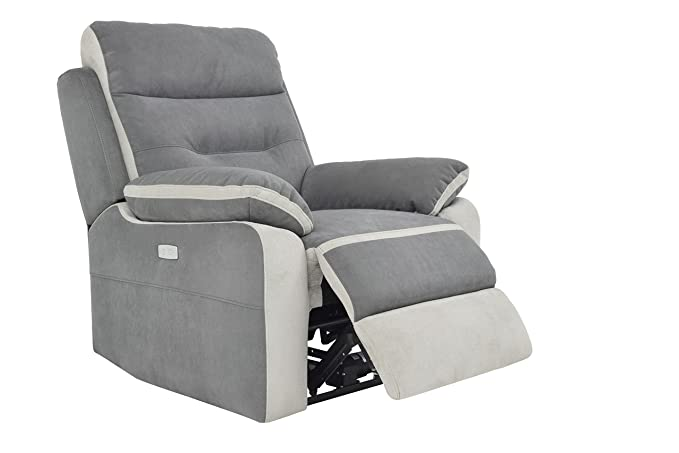 Meubletmoi Sillón Relax eléctrico Confort con reposapiés ...