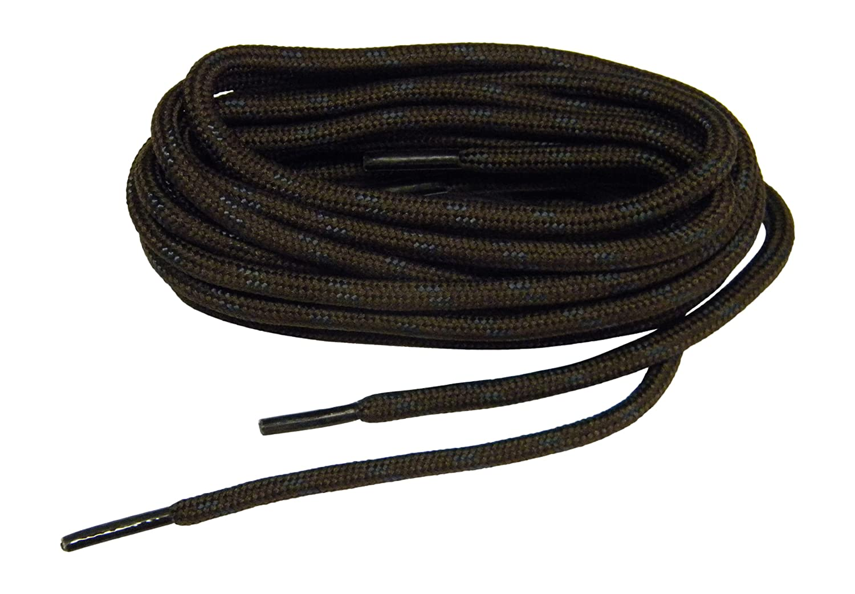 Brown w/ Black Kevlar(R) proTOUGH(TM) Boot Shoelaces 2 pair pack