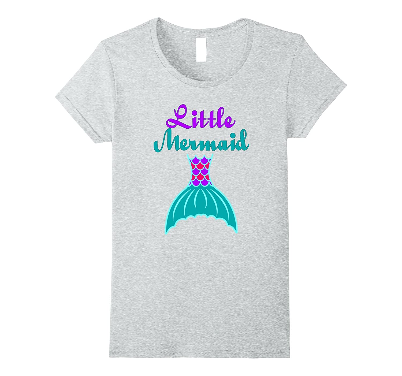 a77fb602203d Birthday Mermaid Birthday Party Shirt for Little Girls-ANZ – Anztshirt