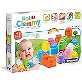 Clementoni 14707 12pieza(s) bloque de construcción de juguete - Bloques de construcción de juguete, 12 pieza(s), Monótono, 0,5 año(s), 1,5 año(s), 60 mm