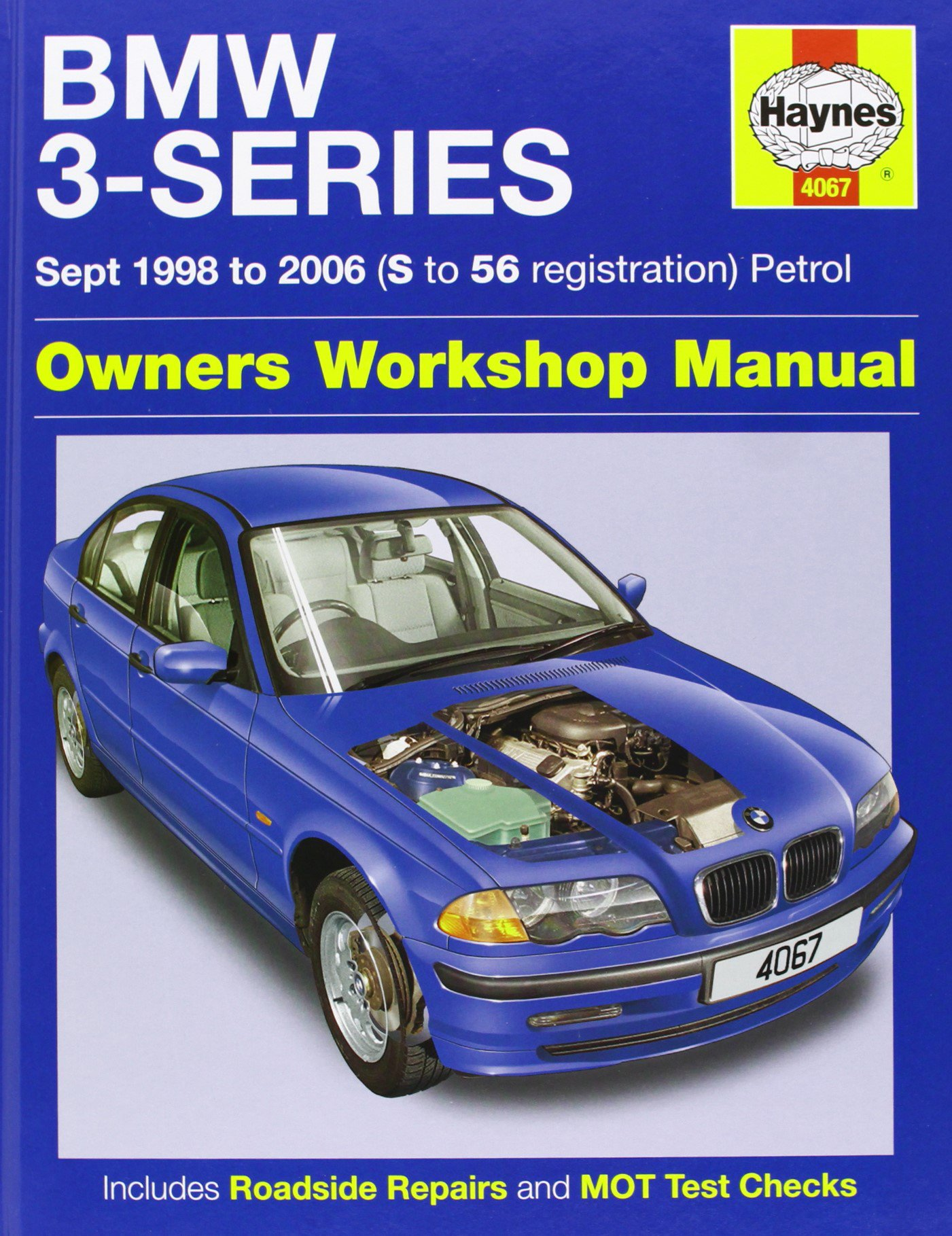 BMW 3-Series Petrol Service and Repair Manual: 1998 to 2006 (Haynes Service  and Repair Manuals): Martynn Randall: 9780857335548: Amazon.com: Books