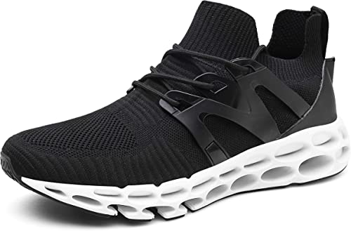Mens Boys New Athletic Sneakers Running Breathable Sports Walking Shoes All Size