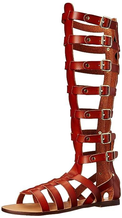 5bf68c813e7 Madden Girl Women's Penna Gladiator Sandal