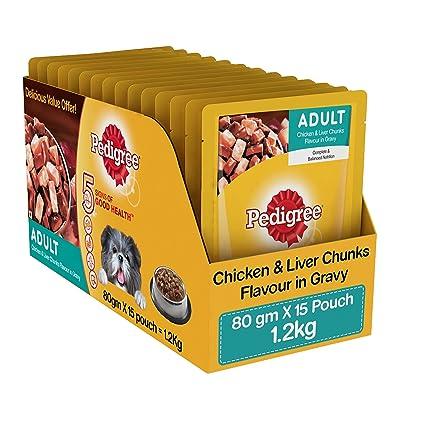 Buy pedigree gravy adult dog food chicken and liver chunks 80 g pedigree gravy adult dog food chicken and liver chunks 80 g pack of forumfinder Choice Image