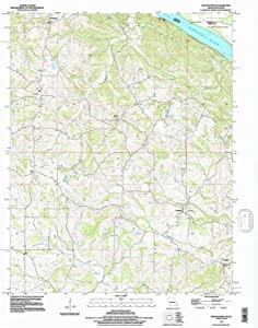YellowMaps Crosstown MO topo map, 1:24000 Scale, 7.5 X 7.5 Minute, Historical, 1993, Updated 1996, 26.8 x 22 in