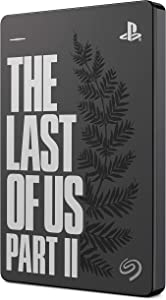 Seagate Game Drive para PS4 2 TB, Disco duro portátil externo HDD: USB 3.0, The Last of Us II Special Edition, diseñada para PS4 (STGD2000103)