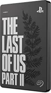 Seagate Game Drive for PS4 2TB External Hard Drive Portable HDD - USB 3.0 The Last of Us II Special Edition, Designed for PS4 (STGD2000202)