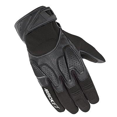 Joe Rocket Men's Atomic X2 Hybrid Motorcycle Glove (Black/Black, Small): Automotive