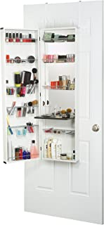 """product image for Mirrotek Deluxe Makeup Organizer, 14"""" x 8"""" x 48"""", White"""