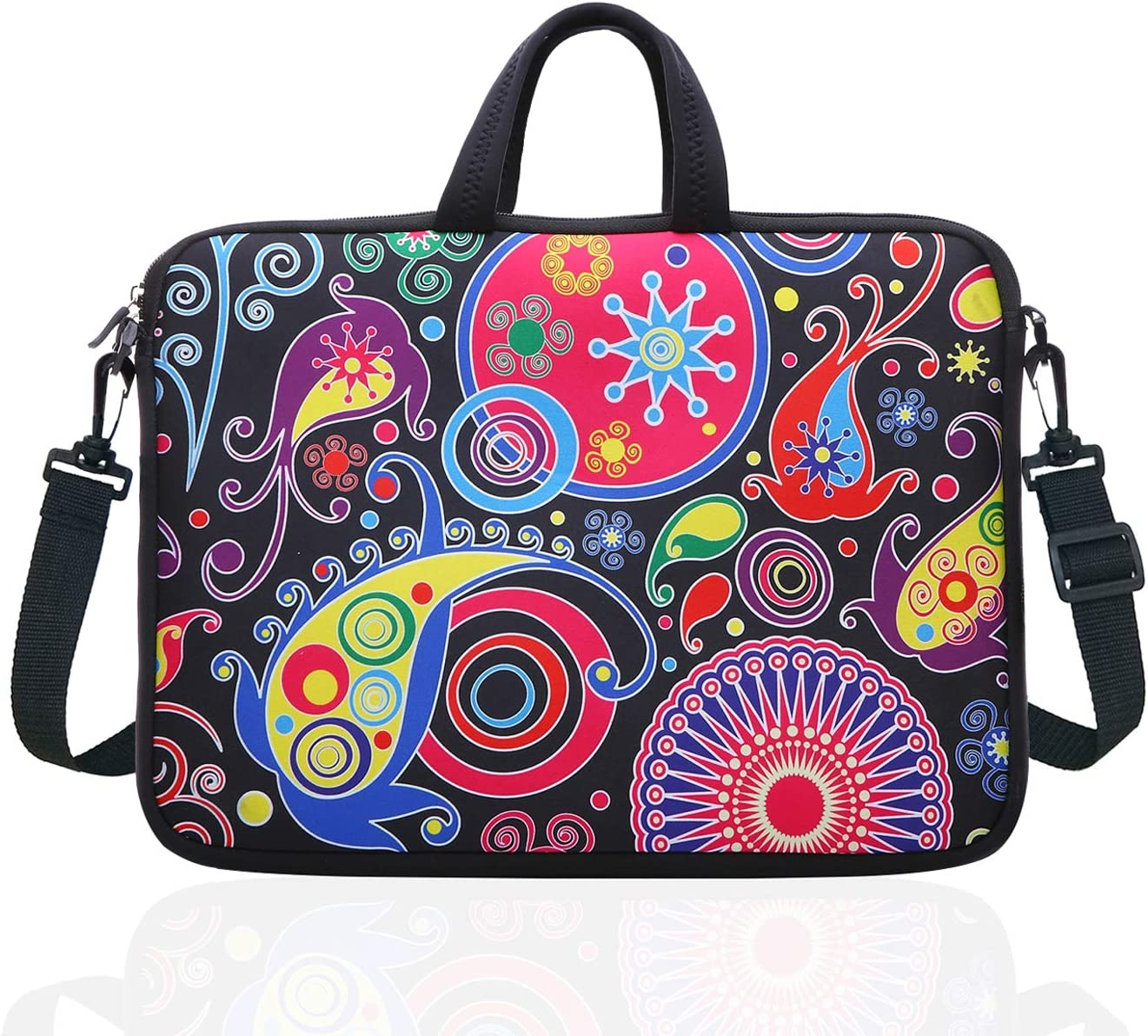 Neoprene Sleeve Laptop Handle Bag Handbag Notebook Case Cover Rainbow and Star Portable MacBook Laptop//Ultrabooks Case Bag Cover 15 Inch