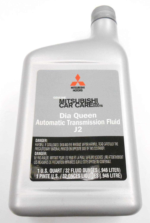 amazoncom genuine mitsubishi j2 automatic transmission fluid 4