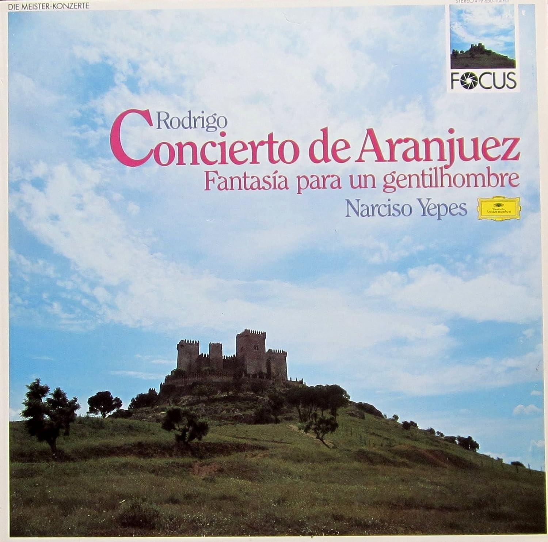 Amazon.com: Concierto de Aranjuez (DG) / Vinyl record [Vinyl ...